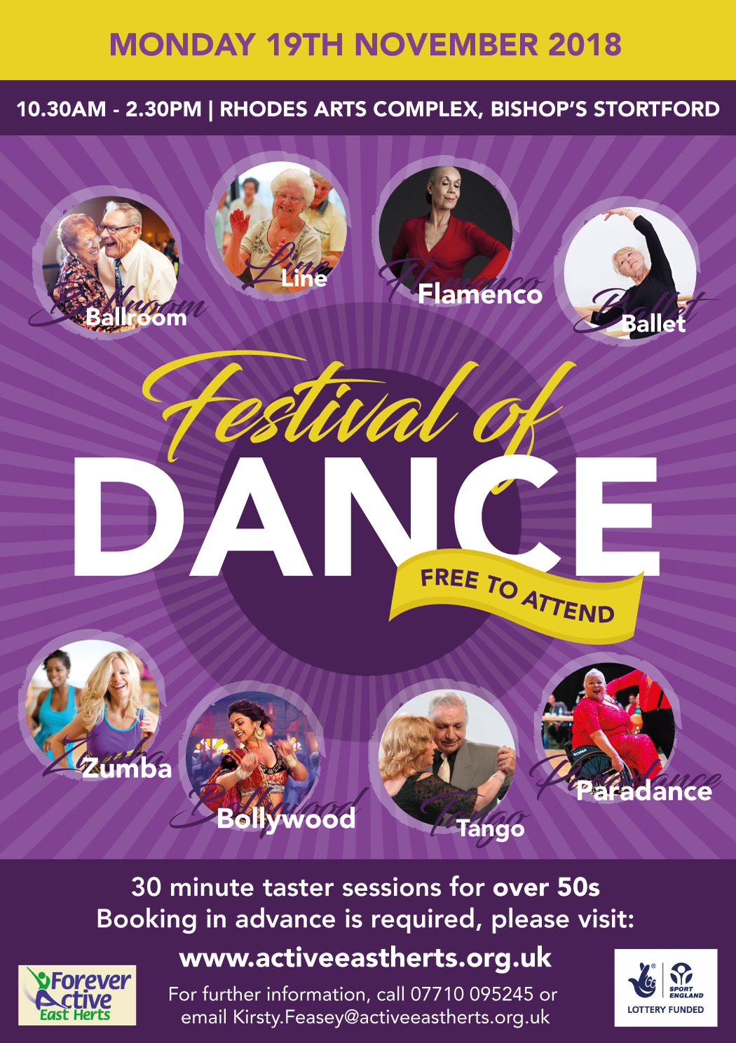 Active East Herts Dance Event